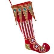 Katherine's Collection - Noel Elf Shoe Stocking