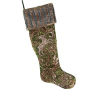 Katherine's Collection - Tapestry Beaded Stocking