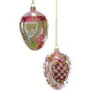 Katherine's Collection - Pearlised Egg Ornament