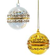 Katherine's Collection - Royal White Christmas Ornament