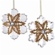 Katherine's Collection - Roy Crystal Snowflake Ornament