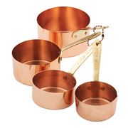 Stephanie Alexander - Copper-Plated Measuring Cup Set 4pce