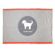 David Fussenegger - Best Friend Grey & Orange Padded Mat