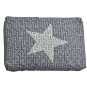 David Fussenegger - Woof Woof Grey Star Pet Cushion