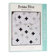 Bubba Blue - Polar Bear Cot Sheet Set 3pce