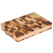 Stephanie Alexander - Acacia End Grain Chopping Board Sml