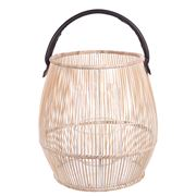Papaya - Sienna Barrel Lantern Small
