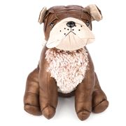 OneWorld - Brown Bulldog Doggie Doorstop