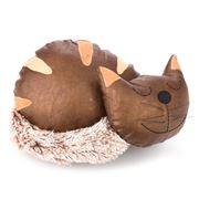 OneWorld - Sleeping Brown Kitty Cat Doorstop