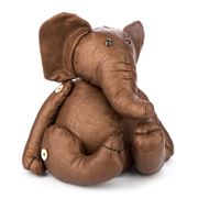 OneWorld - Brown Elephant Doorstop