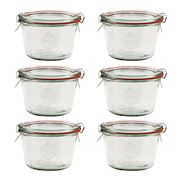 Weck - Canning Jar Set 370ml/6pce