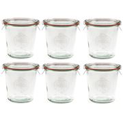 Weck - Canning Jar Set 580ml/6pce