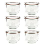 Weck - Tulip Canning Jar Set 580ml/6pce