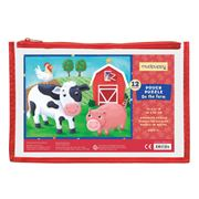 Mudpuppy - On The Farm Puzzle 12pce
