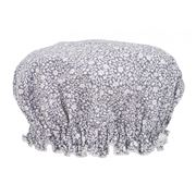 AT - Grey Flower Bud Shower Cap
