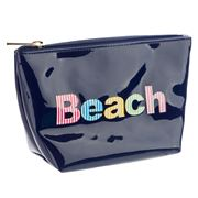 Lolo - Avery Navy Beach Cosmetics Case