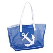Lolo - Madison Navy White Anchor Tote