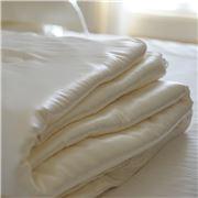Silk Magnolia - Summer Weight Silk Quilt King