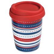 Avanti - Go Mug Horizontal Bandana Stripes