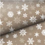 Vandoros - Woodland Snowflake Wrapping Paper