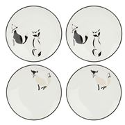 Kate Spade - Forest Drive Tidbit Plate Set 4pce
