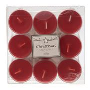 Peter's - Elegance Spicy Apple Tealight Candle Set 9pce