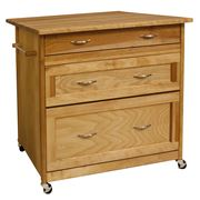 Catskill - Three Drawer Work Center