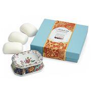 Mottahedeh - Heirsavonare Tobacco Leaf Soap Dish Set 4pce