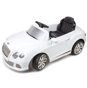 Bentley - White Premium 12V Electric Car