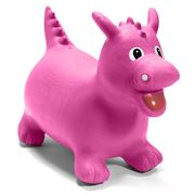 Bop Along Buddies - Dixie The Pink Dragon Inflatable Bouncer