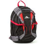 High Sierra - Crawler Black & Red Backpack