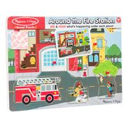 Melissa & Doug - Fire Station Sound Puzzle 8pce