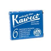 Kaweco - Fountain Pen Blue/Black Ink Cartridge Set 6pce