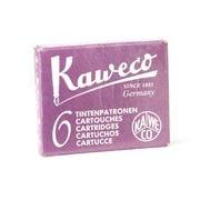 Kaweco - Fountain Pen Purple Ink Cartridge Refill Set 6pce