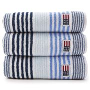 Lexington - Original Striped Blue Bath Sheet