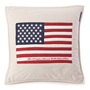 Lexington - Flag Arts & Crafts Cushion Beige 50x50cm