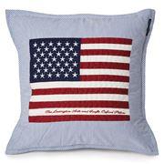 Lexington - Flag Arts & Crafts Cushion Blue 50x50cm