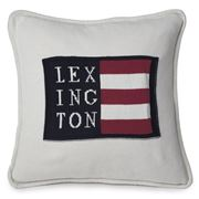 Lexington - Logo No.1 Cushion White 50x50cm