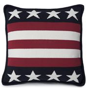 Lexington - Striped No.1 Cushion Navy 50x50cm