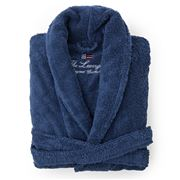 Lexington - Original Bathrobe Medium Navy