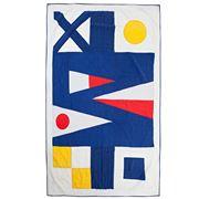 Lexington - Flag Quilt Bedspread White 160x240cm