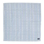 Lexington - Printed Striped Napkin White/Blue