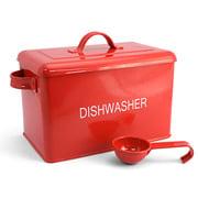 Retro Kitchen - Dishwashing Powder Container Red