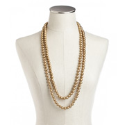 Carolee - Gold Pearl Rope Necklace 10mm