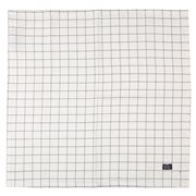 Lexington - Checked Napkin White/Blue