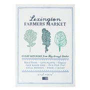 Lexington - Farmers Market Printed Kitchen Tea Towel