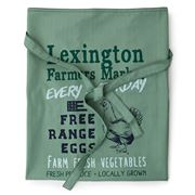 Lexington - Farmers Market Printed Cooking Apron Green