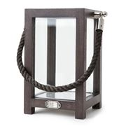 Lexington - Lantern with Rope Handle Brown