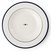 Lexington - Earthenware Soup Plate Blue