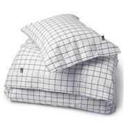 Lexington - Pinpoint Oxford Navy Queen Quilt Cover